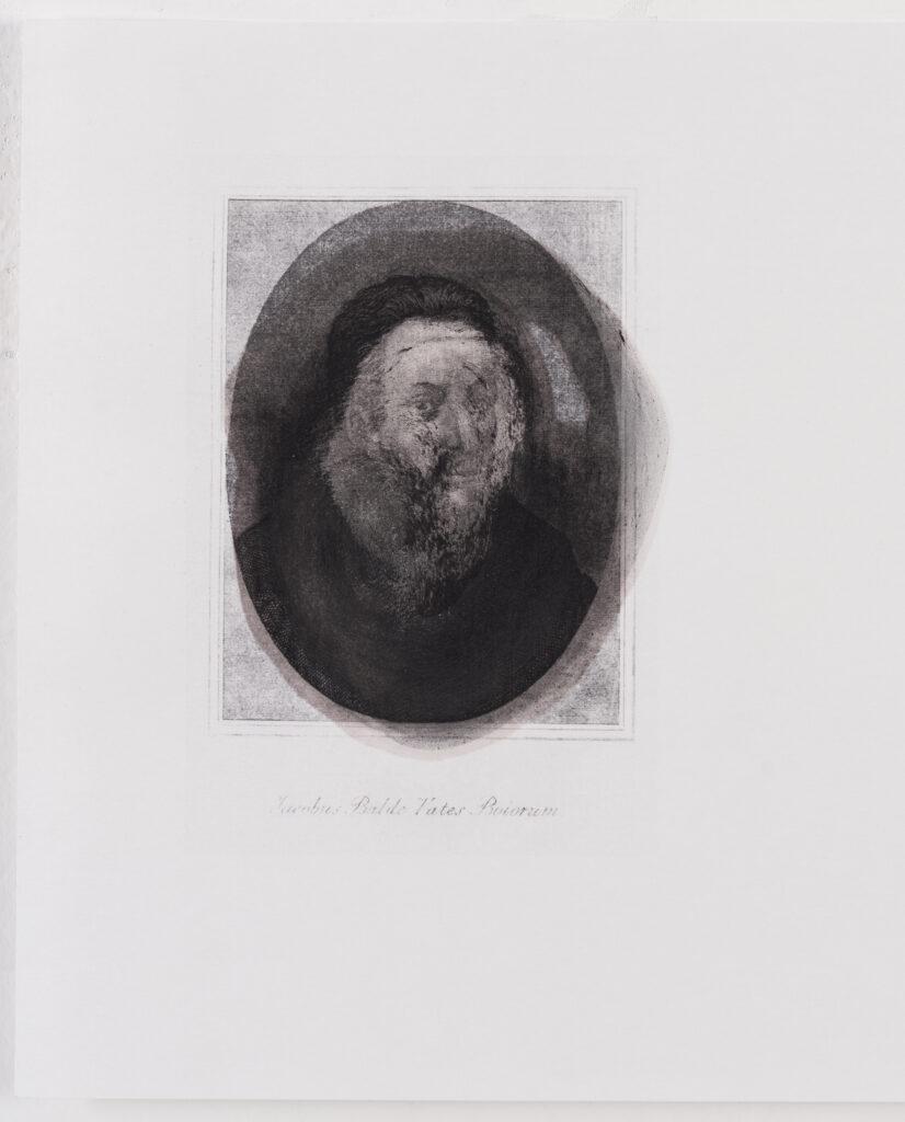 WISCHUNG des Jacob Balde durch JOSEF BAUER für Tief-sind-wir-gestapelt-Gedichte, 2014